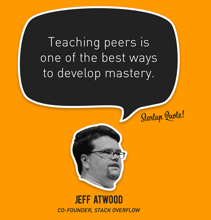 Peer Teaching Quote