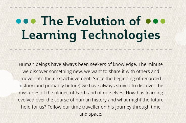 The Evolution of Learning Technologies