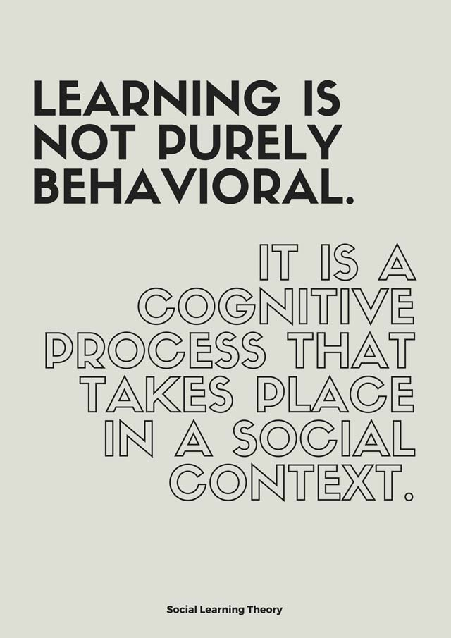 Learning-is-not-purely-behavioral.-It-is-a-cognitive-process-that-takes-place-in-a-social-context