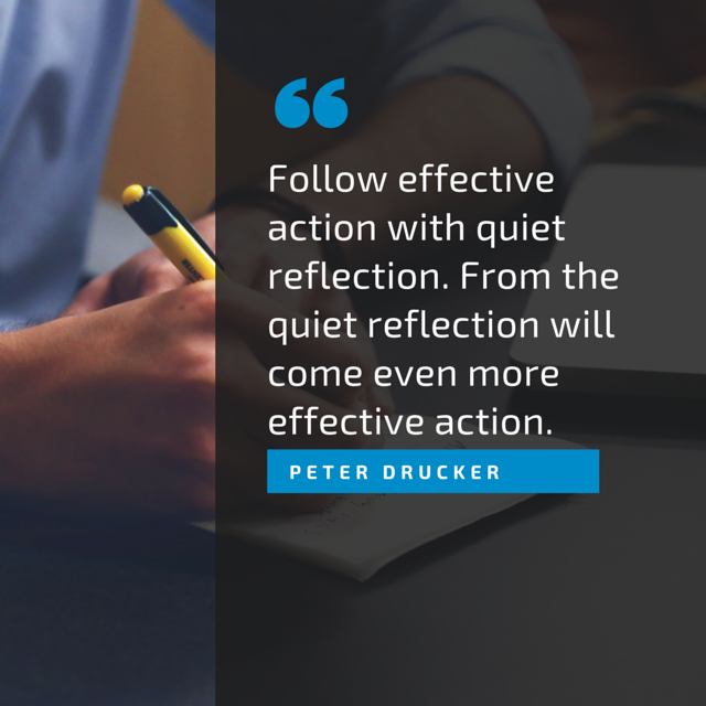 Follow effective action with quiet