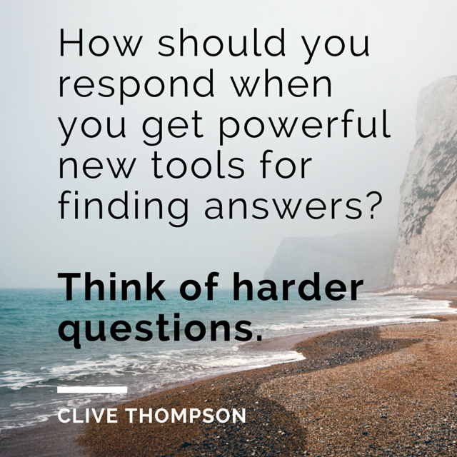 How should you respond when you get