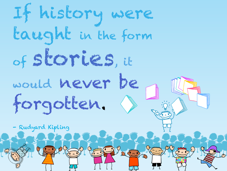 history storytelling quote