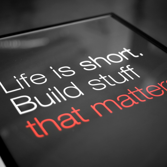 Build-Stuff-that-Matter